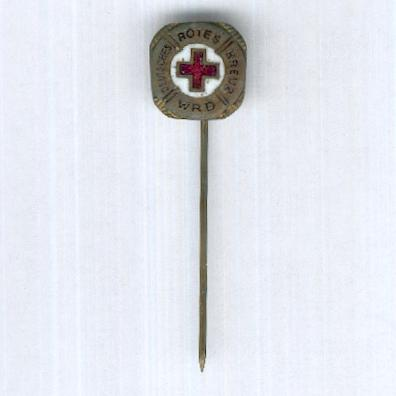German Red Cross Water Rescue Service Stickpin (Deutsches Rotes Kreuz Wasserrettungsdienst Anstecknadel)