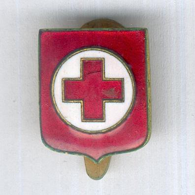 Italian Red Cross Badge (Croce Rossa Italiana distintivo) by Stefano Johnson of Milan