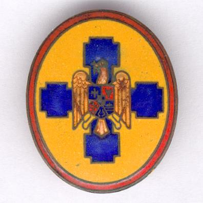 Badge of the Front of National Rebirth (Frontul Renaşterii Naţionale), 1938-1940