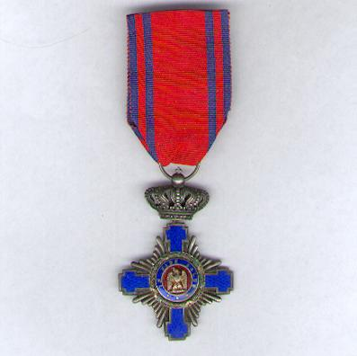 Order of the Star of Romania, knight (Ordinul Steaua României, cavaler), 1877-1932 issue