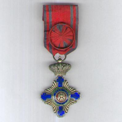 Order of the Star of Romania, officer (Ordinul Steaua României, ofiţer), 1877-1932 issue, by Joseph Resch of Bucharest
