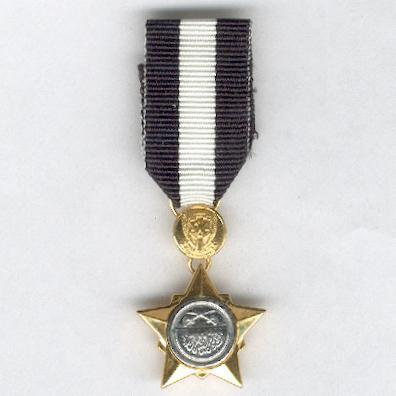 Order of Long and Distinguished Service, Army version for other ranks, miniature