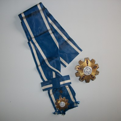 Order of the Two Niles, Grand Cross Set