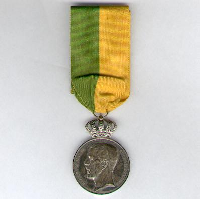 Royal Patriotic Society Long and Faithful Service Silver Medal, Gustaf V, 1948, attributed