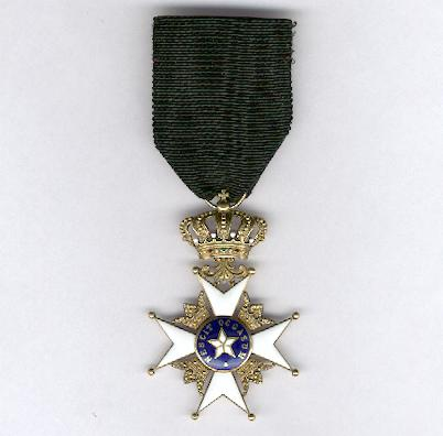 Royal Order of the Northern Star (Kungliga Nordstjärnenorden), knight