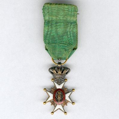 Royal Order of Vasa (Kungliga Vasaorden), knight, miniature