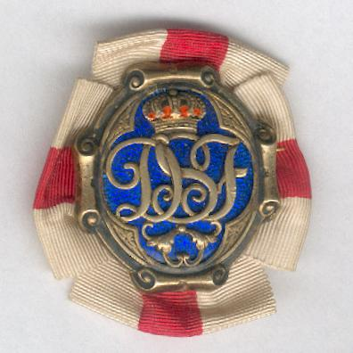 Queen Sophia's Red Cross Badge of Merit