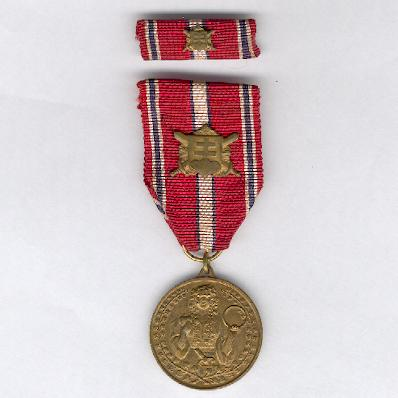 Medal for Loyalty in Defence, 1918-1938