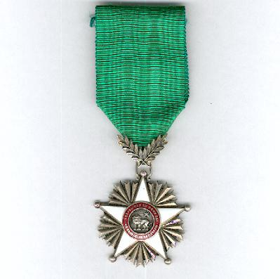 National Order of the Lion, knight (Ordre National du Lion, chevalier)