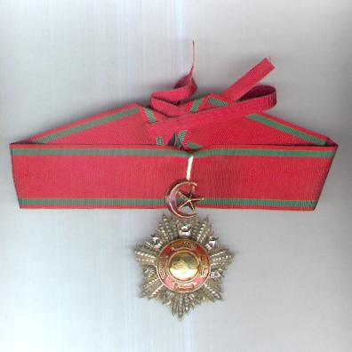 Order of Mejidie (Mecidi Nishani), III class neck badge