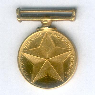 Prison Service Long Service and Good Conduct Medal, miniature