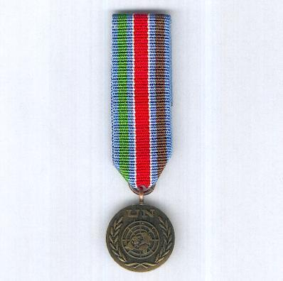United Nations Medal, UNPROFOR (United Nations' Protection Force in the Former Yugoslavia), miniature