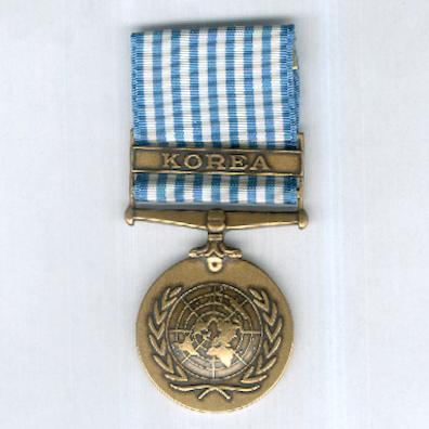 United Nations Korea Medal, 1950-1953