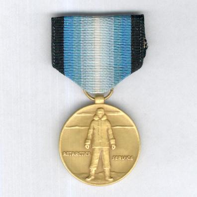 Antarctica Service Medal by Volupte Inc. of New York, 1960s