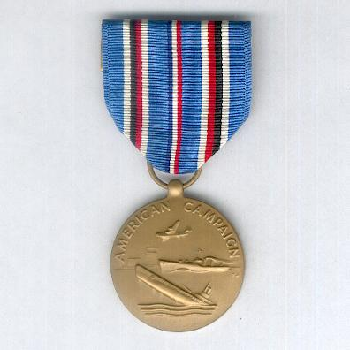 American Campaign Medal, 1941-1946