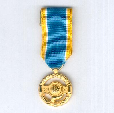 National Aeronautics and Space Administration Exceptional Public Service Medal, miniature