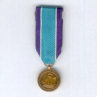 Coast Guard Distinguished Service Medal, miniature