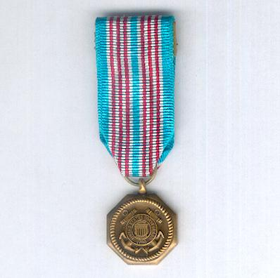 Coast Guard Medal, miniature