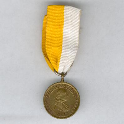 Commemorative Medal for the 50th Anniversary of the Ordination of Pope Leo XIII, 1888