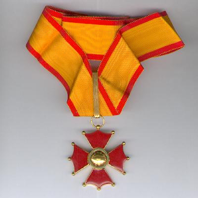 Cross of the Army of Venezuela, first class (Cruz del Ejercito Venezolano, primera clase)
