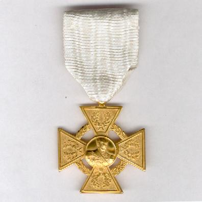 Military Order of General José Antonio Páez,  I class, for 30 years' service (Orden Militar General José Antonio Páez, Primera Clase, por 30 años de Servicio)