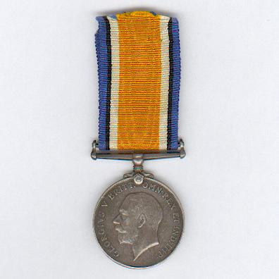 British War Medal, 1914-1920, attributed to Private W. Burgers, 1st Cape Corps