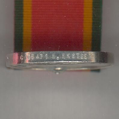 Africa Service Medal, 1939-1945, attributed, Cape Corps