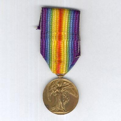 Inter-Allied Victory Medal, South African bilingual issue, 1914-1919, unnamed