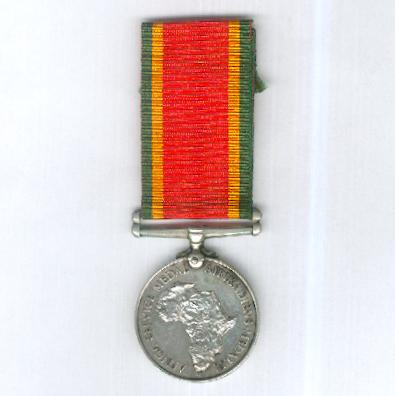 Africa Service Medal, 1939-1945, attributed, Native Military Corps