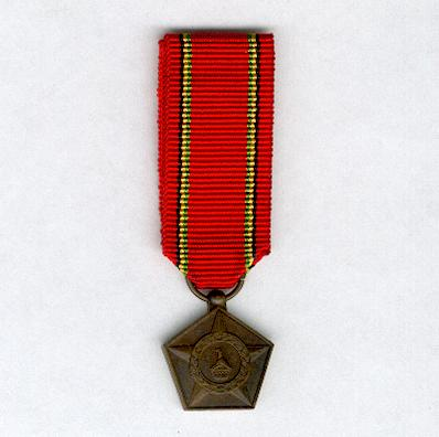 Liberation Medal, bronze, miniature
