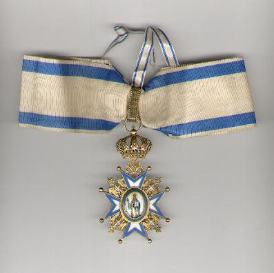 Order of St. Sava, commander (III class), 1921 onwards issue (Saint in Green Robes)