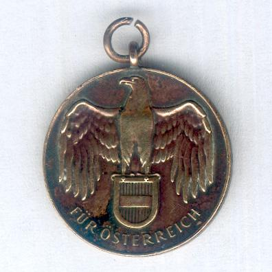 Great War Commemorative Medal (Kriegserinnerungsmedaille) 1914-1918, miniature