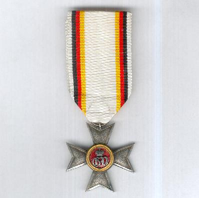 WALDECK-PYRMONT.  Military Merit Cross for Officers, III class (Militärverdienstkreuz für Offiziere, III. Klasse), 1878-1896, probably a later production