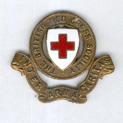 British Red Cross Society Cap Badge