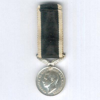 New Zealand War Service Medal, 1939-1945, miniature