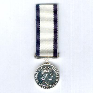 Conspicuous Gallantry Medal, Elizabeth II issue, 1953-1993 issue, miniature
