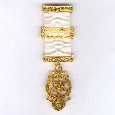 Masonic Royal Arch Companion's Breast Jewel