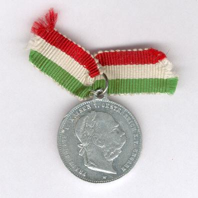 Commemorative Medal for the Great Royal Military Manoeuvres in Hungary, 1895