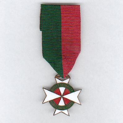 Order of Malta Ambulance Corps, Long Service Medal, 10 years service