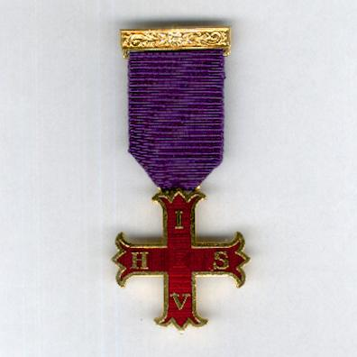 Masonic Jewel 'In Hoc Signo, Vinces'