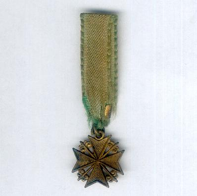 Maltese cross, miniature