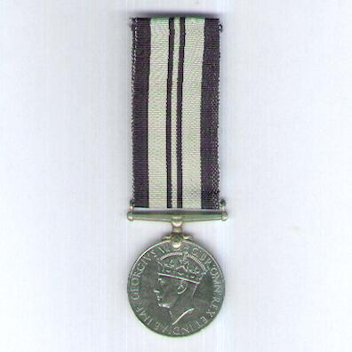 India Service Medal, 1939-1945, unnamed as issued
