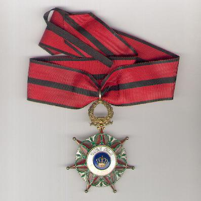 Royal Order of El Rafidain, also known as the Order of the Two Rivers (Wisam al-Imtiaz-i-Rafidain), Commander, Civil, prior to 1958