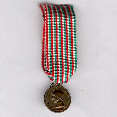 Commemorative Medal for the War of 1915-1918, miniature (Medaglia Commemorativa della Guerra 1915-1918, miniatura)