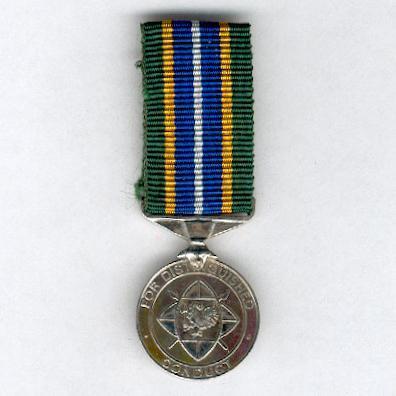 Distinguished Conduct Medal, version since 2002, miniature