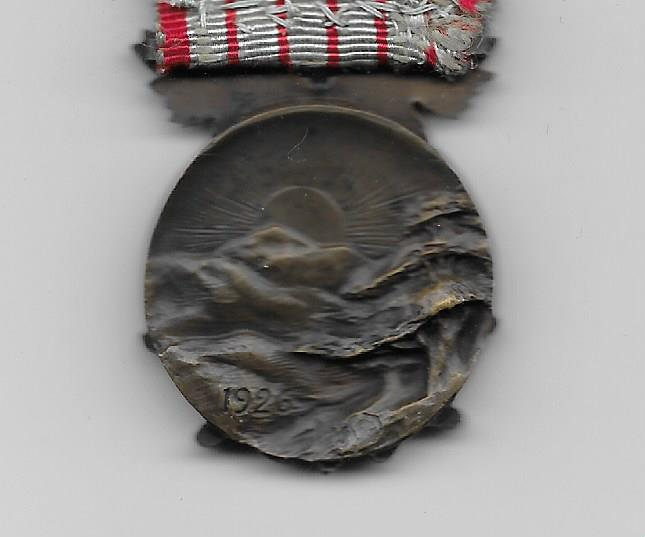 LEBANON. Commemorative Medal (Médaille Commemorative), 1926