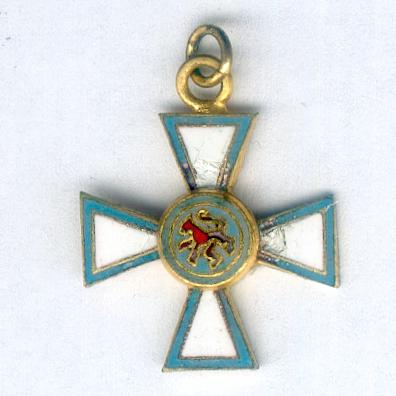 Order of Merit of the Grand Duchy of Luxembourg, officer (Ordre de Mérite du Grand-Duché de Luxembourg, officier), miniature