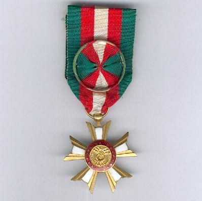 National Order of the Republic of Madagascar, First Republic, officer (Ordre National de la Republikan'i Madagasikara, 1ère République, officier), 1958-1975 issue
