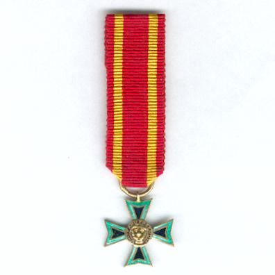 Order of the Lion, Member, miniature