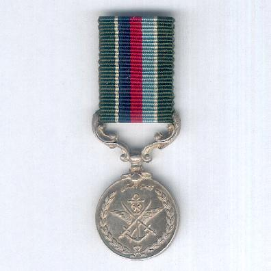 Pakistan Armed Forces Long Service Medal, George VI issue, 1947-1952, miniature